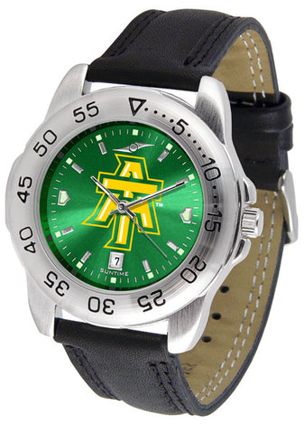 Arkansas Tech Men Sport Watch With Leather Band & AnoChrome Dial