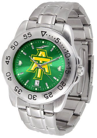 Arkansas Tech Men Sport Steel Watch With AnoChrome Dial