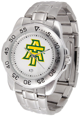 Arkansas Tech Men Sport Steel Watch