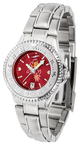 Arizona State Ladies Competitor Steel Watch With AnoChome Dial