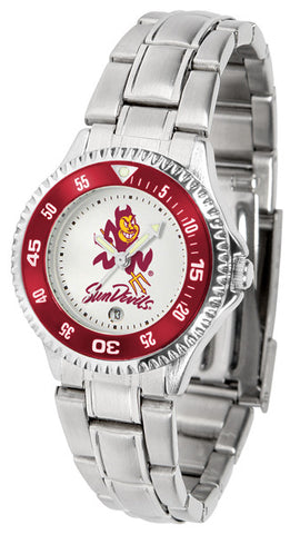 Arizona State Competitor Steel Ladies Watch