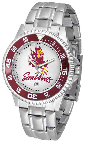 Arizona State Competitor Steel Men's Watch