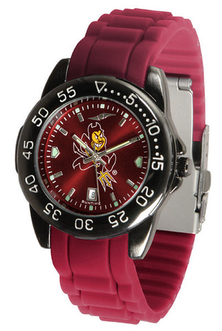 Arizona State Fantom Sport AC Watch With Color Band