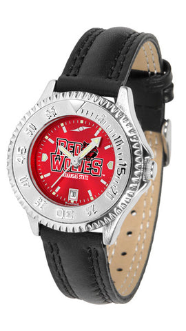 Arkansas State Red Wolves Ladies Competitor Watch With AnoChome Dial