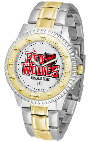Arkansas State Red Wolves Men's Competitor Two-Tone Watch