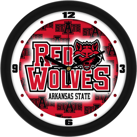 Arkansas State Red Wolves Wall Clock