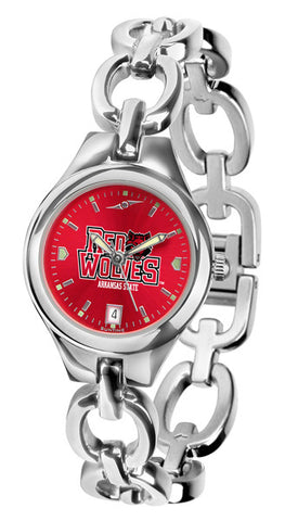Arkansas State Red Wolves Ladies Eclipse Watch With AnoChrome Dial