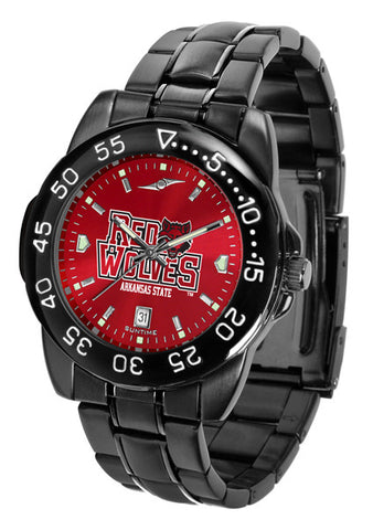 Arkansas State Red Wolves Fantom Sport Men Watch With  AnoChrome Dial