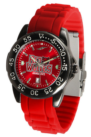 Arkansas State Red Wolves Fantom Sport AC Watch With Color Band