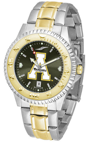Appalachian State Mountaineers Men's Competitor Two-Tone Watch With Anochrome Dial