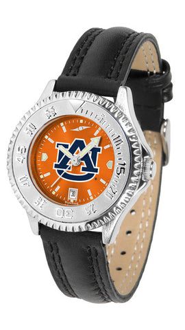 Auburn Tigers Ladies Competitor Watch With AnoChrome Dial