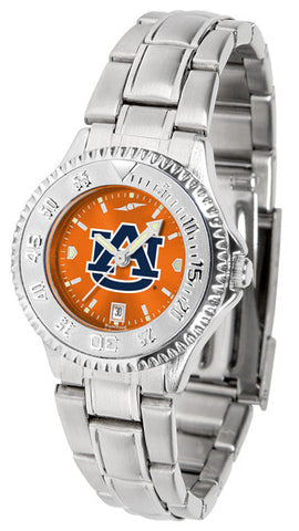 Auburn Tigers Ladies Competitor Steel AnoChrome Watch