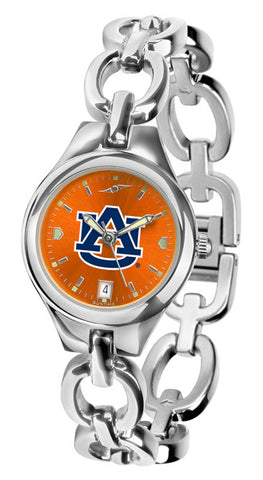 Auburn Tigers Ladies Eclipse Watch With AnoChrome Orange Dial