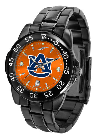 Auburn Tigers Fantom Sport Watch Men With AnoChrome Orange Dial