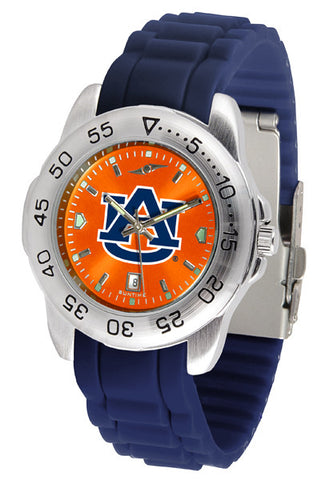 Auburn Tigers Sport AnoChrome Watch With Color Band