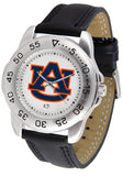 Auburn Tigers Men Or Ladies Sport Watch With Leather Band