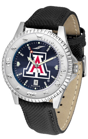 Arizona Wildcats Men  Competitor Watch With AnoChome Dial