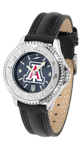 Arizona Wildcats Ladies Competitor Watch With AnoChome Dial