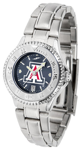 Arizona Wildcats Ladies Competitor Steel Watch With AnoChome Dial