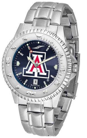Arizona Wildcats Men's Competitor Steel Watch With AnoChome Dial