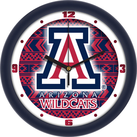 Mens Arizona Wildcats - Dimension Wall Clock