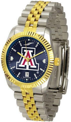 Arizona Wildcats Men's Executive Watch With AnoChrome Dial