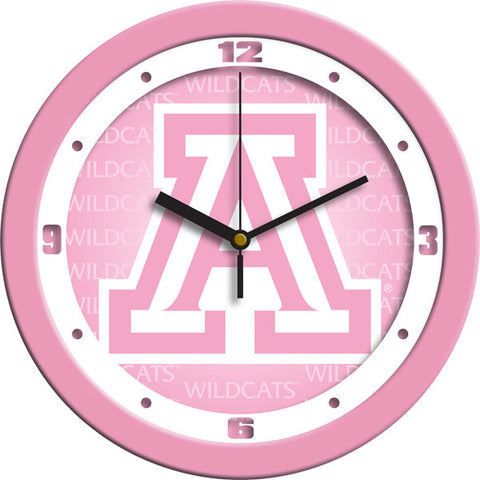 Ladies Arizona Wildcats - Pink Wall Clock