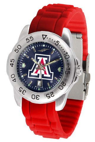 Arizona Wildcats Sport AnoChrome Watch With Color Band