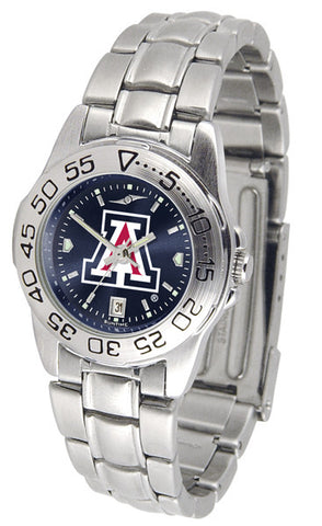 Arizona Wildcats Ladies Sport Steel Watch With AnoChrome Dial