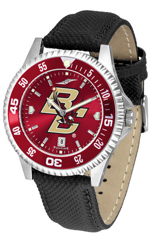 Mens Boston College Eagles - Competitor AnoChrome Watch - Color Bezel