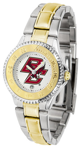 Ladies Boston College Eagles - Competitor Two Tone Watch