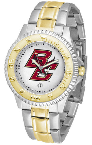 Mens Boston College Eagles - Competitor Two Tone Watch