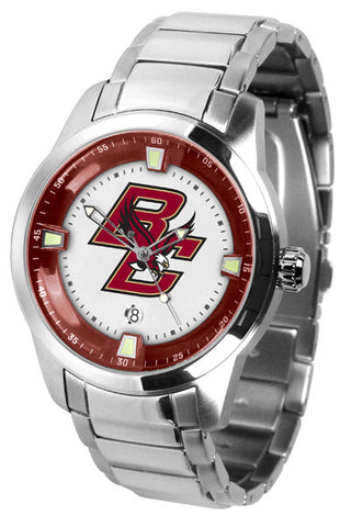 Mens Boston College Eagles - Titan Steel Watch