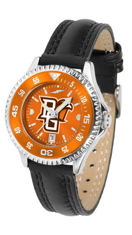 Bowling Green Falcons Ladies Competitor Watch With AnoChome Dial, Color Bezel