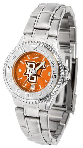 Bowling Green Falcons Ladies Competitor Steel Watch With AnoChome Dial