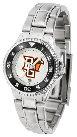 Bowling Green Falcons Competitor Steel Ladies Watch