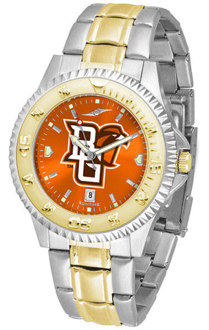 Bowling Green Falcons Men Or Ladies Competitor Two-Tone Watch With Anochrome Dial