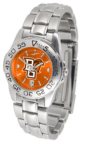 Bowling Green Falcons Ladies Sport Steel Watch With AnoChrome Dial