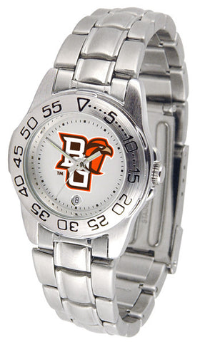 Bowling Green Falcons Ladies Sport Steel Watch