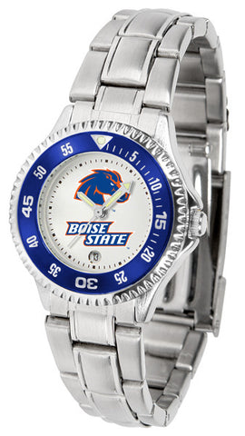 Ladies Boise State Broncos - Competitor Steel Watch