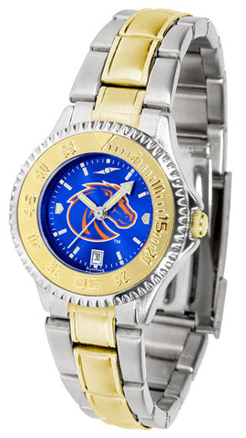 Ladies Boise State Broncos - Competitor Two Tone AnoChrome Watch