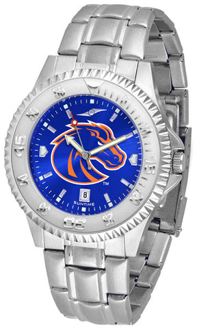 Mens Boise State Broncos - Competitor Steel AnoChrome Watch