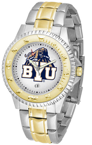 BYU Men's Competitor Two-Tone Watch