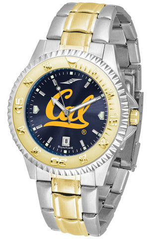 California Berkeley Men Or Ladies Competitor Two-Tone Watch With Anochrome Dial