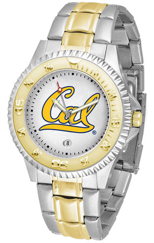 Mens California Berkeley Golden Bears - Competitor Two Tone Watch