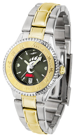 Ladies Cincinnati Bearcats - Competitor Two Tone AnoChrome Watch