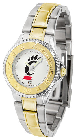 Ladies Cincinnati Bearcats - Competitor Two Tone Watch