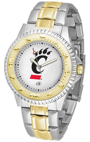 Mens Cincinnati Bearcats - Competitor Two Tone Watch