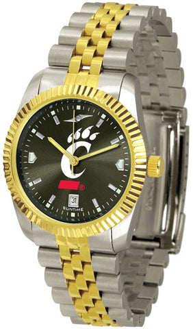 Cincinnati Bearcats Men's Executive Watch With AnoChrome Dial