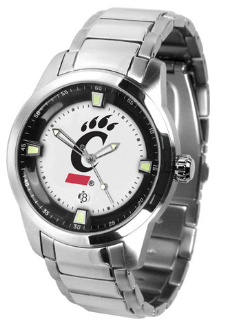 Mens Cincinnati Bearcats - Titan Steel Watch